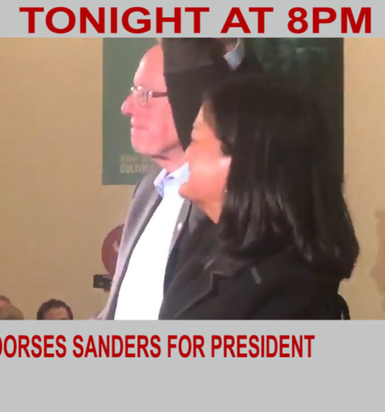 Jayapal endorses Sanders for president   Diya TV News
