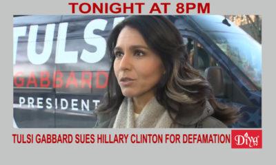 Tulsi Gabbard sues Hillary Clinton for defamation | Diya TV News
