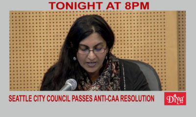 Led by Sawant, Seattle City Council passes anti-CAA resolution | Diya TV News