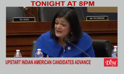 Upstart Indian American candidates advance | Diya TV News