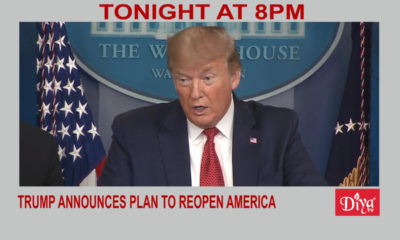 Trump announces plan to reopen America