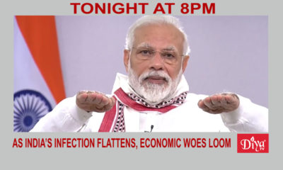 As India's infection curve flattens, economic woes loom | Diya TV News