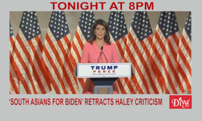 'South Asians for Biden' retracts Haley criticism | Diya TV News