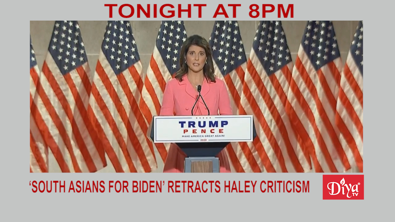 'South Asians for Biden' retracts Haley criticism | Diya TV News
