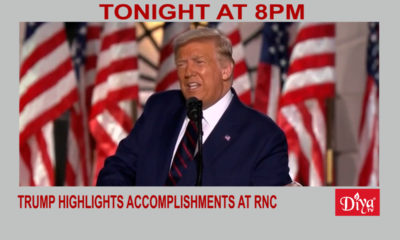 Trump highlights accomplishments on RNC final day | Diya TV News
