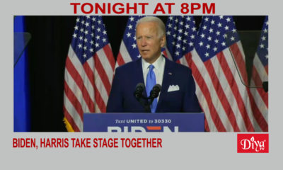 Biden, Harris take stage together, announce platform | Diya TV News