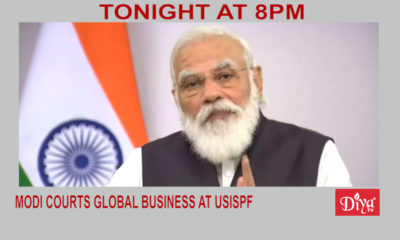 Modi courts global business at USISPF leadership forum | Diya TV News