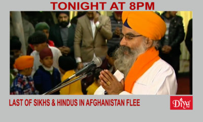 Under threat, last of Sikhs & Hindus in Afghanistan flee | Diya TV News