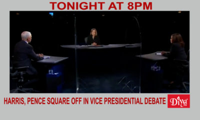 Harris, Pence square off in sole Vice Presidential debate | Diya TV News