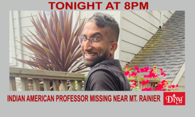 Indian American professor missing near Mt. Rainier | Diya TV News