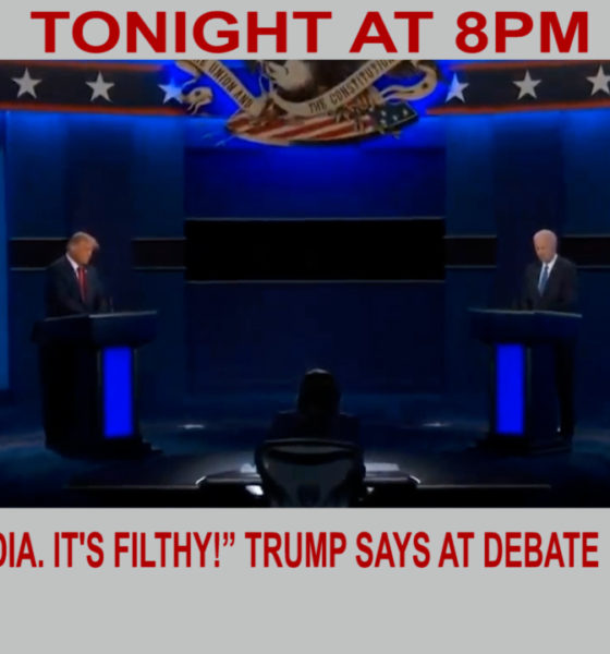 """Look at India. It's filthy!"" Trump exclaims during debate 