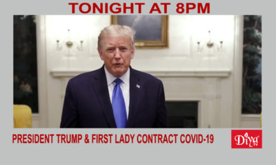 President Trump & First Lady contract COVID-19 | Diya TV News