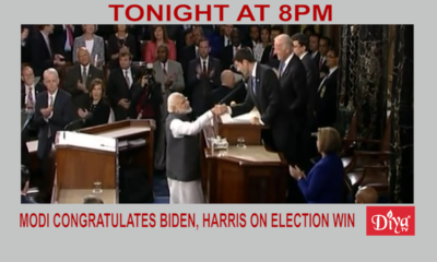 Modi congratulates Biden & Harris on election victory | Diya TV News