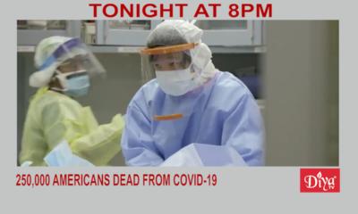Sobering milestone: 250,000 Americans dead from Covid-19 | Diya TV News