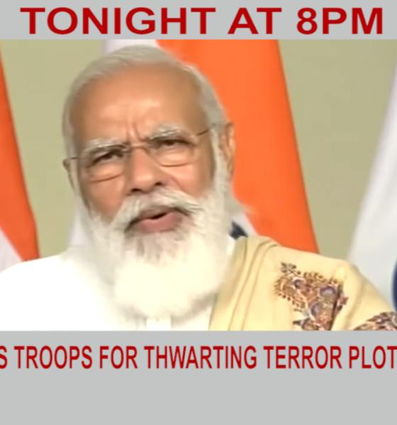 Modi thanks troops for thwarting terror plot | Diya TV News