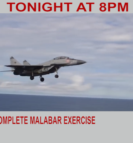 U.S., India, Japan & Australia complete Malabar exercise | Diya TV News