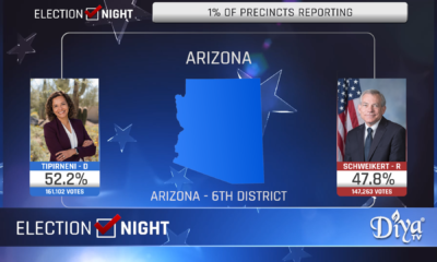 Hiral Tiperneni projected to win AZ6