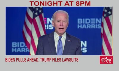 Election 2020: Biden pulls ahead, Trump files lawsuits | Diya TV News