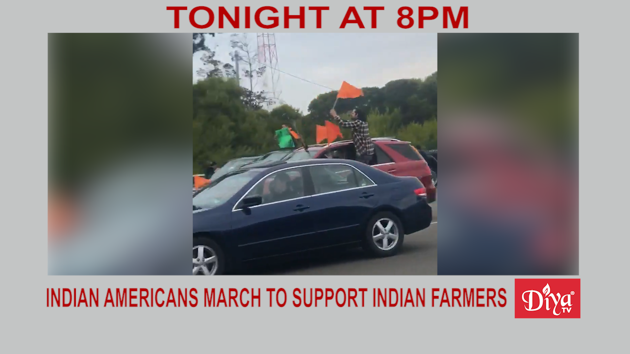 Indian Americans march to support Indian farmer | Diya TV News