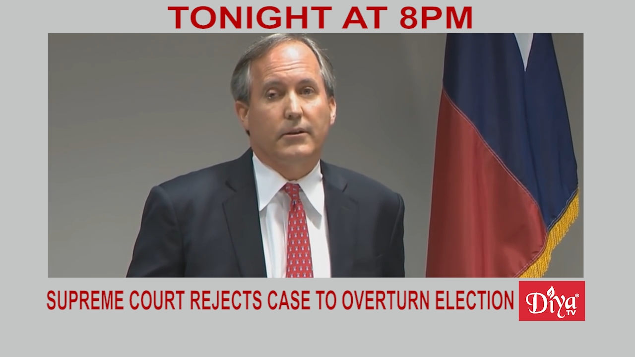 Supreme Court refuses to hear Texas case to overturn election   Diya TV News