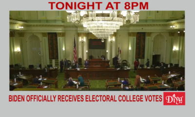 Biden officially receives 306 electoral college votes | Diya TV News