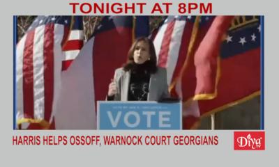 Harris Helps Ossoff, Warnock Court Georgians | Diya TV News