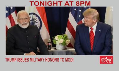 Trump Issues Military Honors To Modi | Diya TV News
