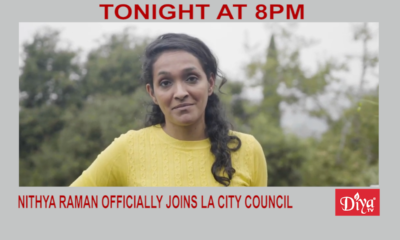 Nithya Raman Officially Joins La City Council | Diya TV News