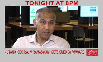 New Nutanix Ceo Rajiv Ramaswami Get Sued By Vmware | Diya TV News