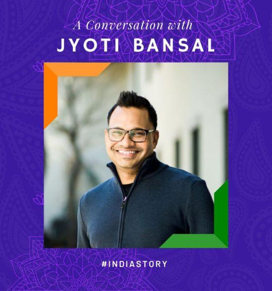 Silicon Valley serial entrepreneur & Venture Capitalist Jyoti Bansal shares his #IndiaStory