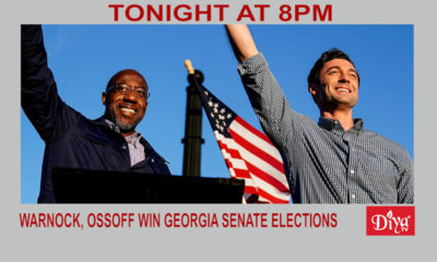 Warnock, Ossoff Win Georgia Senate Runoff Elections | Diya TV News