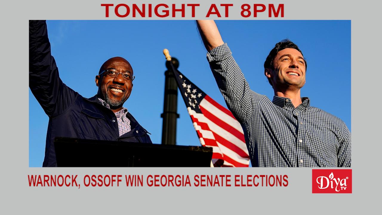 Warnock, Ossoff Win Georgia Senate Runoff Elections   Diya TV News