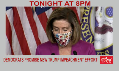 Democrats Promise New Trump Impeachment Effort | Diya TV News