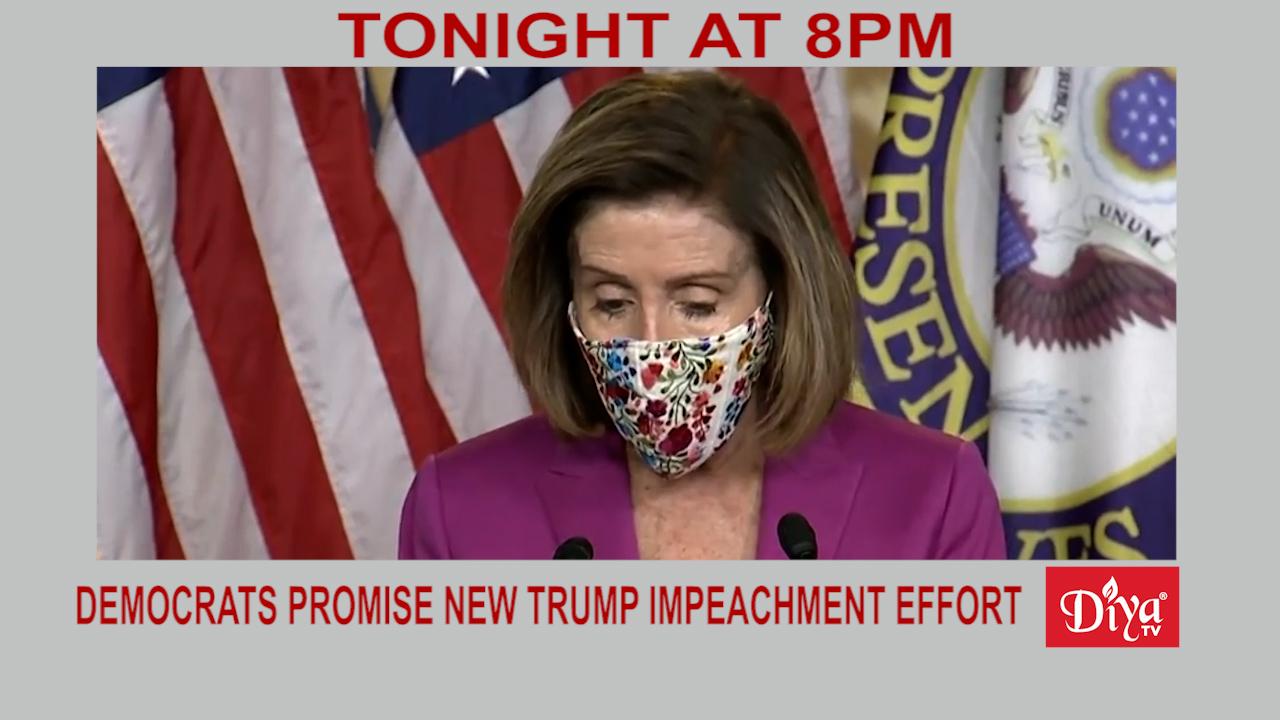 Democrats Promise New Trump Impeachment Effort | Diya TV News