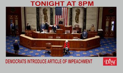 Democrats Introduce Article Of Impeachment Against Trump | Diya TV News