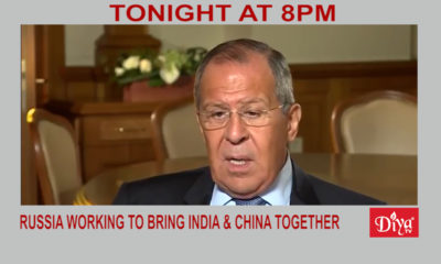 Russia Working To Bring India & China Together | Diya TV News