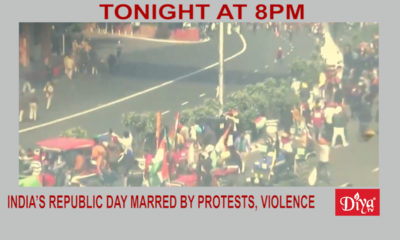 India's Republic Day Marred By Protests, Violence | Diya TV News