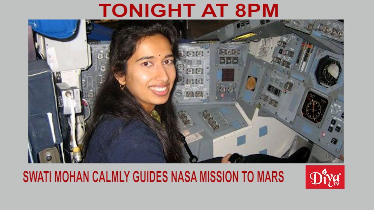 Swati Mohan Calmly Guides Historic Nasa Mission To Mars | Diya TV News