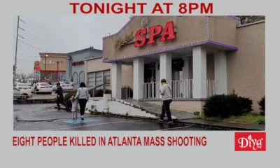 Eight People Killed In Atlanta Mass Shooting, Suspect In Custody | Diya TV News