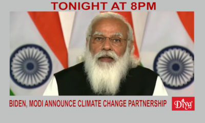 Biden, Modi Announce Climate Change Partnership | Diya TV News