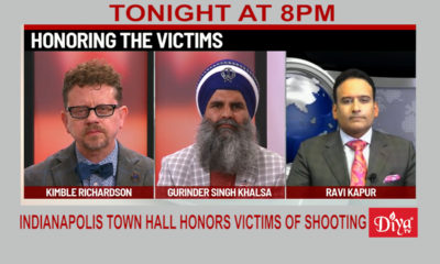 Indianapolis Town Hall Honors Victims Of Shooting | Diya TV News