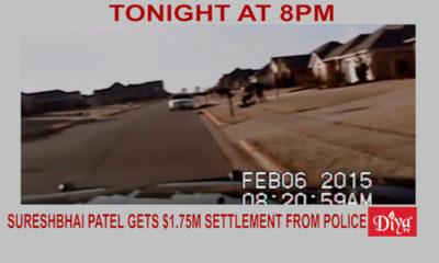 Sureshbhai Patel gets $1.75m settlement from Madison Police | Diya TV News