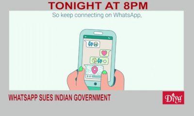WhatsApp sues Indian Government | Diya TV News
