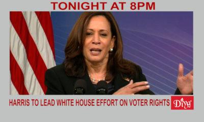 Harris to lead White House effort on voter rights | Diya TV News