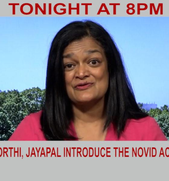 Krishnamoorthi, Jayapal Introduce The NOVID Act | Diya TV News