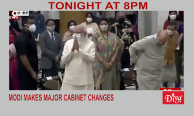 Modi makes major cabinet changes | Diya TV News