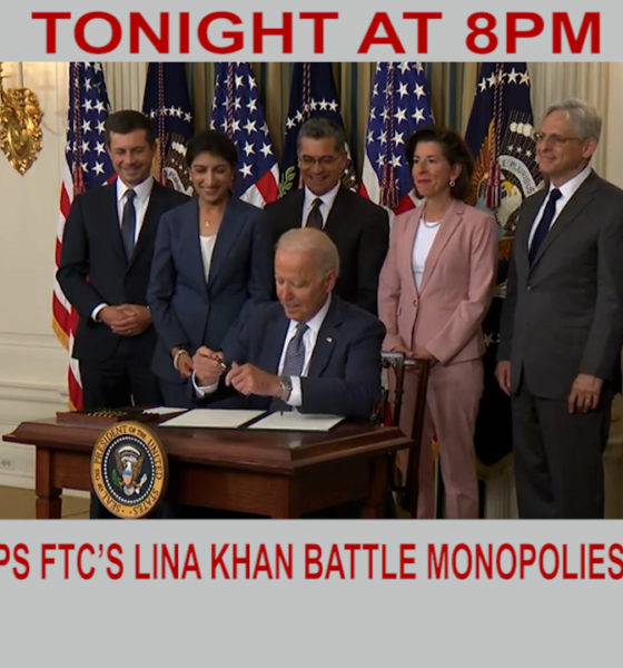 New executive order helps FTC's Lina Khan battle monopolies | Diya TV News