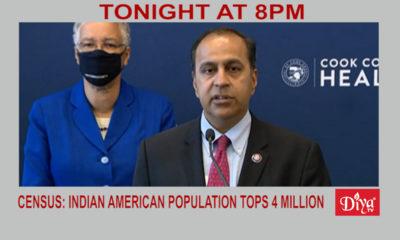 Census: Indian American population tops 4 million | Diya TV News