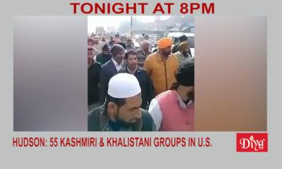 Hudson: 55 Kashmiri & Khalistani groups operate in the US | Diya TV News