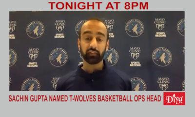 Sachin Gupta named T-Wolves basketball OPS head | Diya TV News
